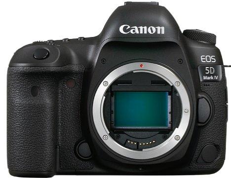 Bild Die Canon  EOS 5D Mark IV besitzt einen 30.4 Megapixel auflösenden Dual-Pixel-CMOS-Sensor im Vollformat, der auch 4K-Videoaufnahmen erlaubt. [Foto: Canon]