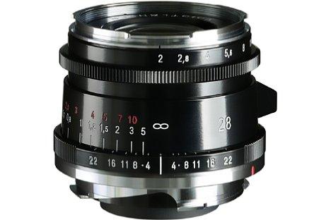 Bild Voigtländer Ultron 2,0/28 mm Typ II VM asphärisch. [Foto: Voigtländer]