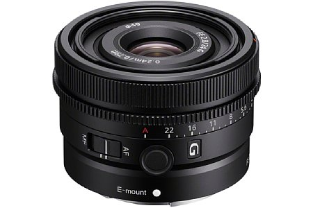Sony FE 24 mm F2.8 G (SEL24F28G). [Foto: Sony]
