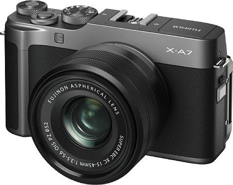 Bild Bei der neuen X-A7 erhält endlich eine gute 4K-Videofunktion Einzug in die Einsteigerklasse von Fujifilm. [Foto: Fujifilm]