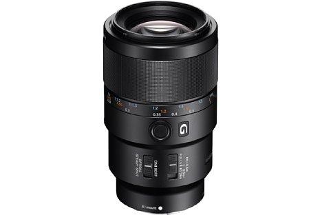 Bild Das Sony FE 90 mm F2,8 Macro G OSS (SEL-90M28G) bietet einen Abbildungsmaßstab von 1:1, einen Bildstabilisator sowie einen besonders schnellen Autofokus. [Foto: Sony]