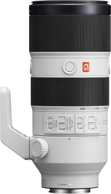 Bild Der Fokus sowie der Bildstabilisator lassen sich beim Sony FE 70-200 mm F2.8 GM OSS (SEL70200GM) vorbildlich steuern. [Foto: Sony]