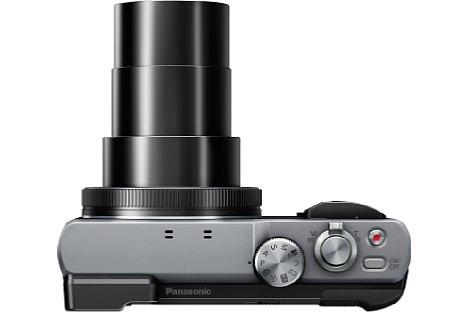 Bild In Telestellung (720 mm) wächst das 30-fach-Zoom der Panasonic Lumix DMC-TZ81 auf beachtliche Länge. [Foto: Panasonic]