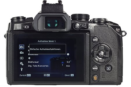 Olympus OM-D E-M1 [Foto: MediaNord]