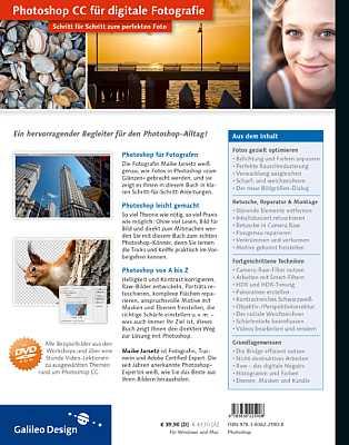 Photoshop CC für digitale Fotografie – Schritt für Schritt zum perfekten Bild [Foto: Galileo]