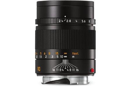 Bild Die Naheinstellgrenze des Leica Summarit-M 1:2.4/90 mm hat sich auf 0,9 Meter nach vorn verschoben. [Foto: Leica]
