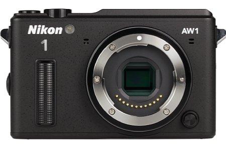 Bild Natürlich ist die Nikon 1 AW1 nur geschützt, wenn eines der ebenfalls mit Schutzklasse versehenen Nikon AW Objektive verwendet wird. [Foto: MediaNord]