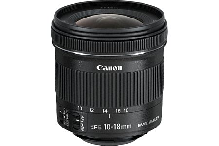 Canon EF-S 10-18 mm 4.5-5.6 IS STM [Foto: Canon]