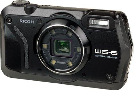 Bild Anders als die WG-60 sieht die Ricoh WG-6 eher nach einer eleganten Kompaktkamera aus. [Foto: MediaNord]