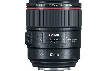 EF 85mm 1.4 L IS USM. [Foto: Canon]