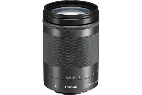 Bild Das Canon EF-M 18-150 mm 3.5-6.3 IS STM zoomt 8,3-fach mit einer kleinbildäquivalenten Brennweite von 29 bis 240 Millimeter. [Foto: Canon]