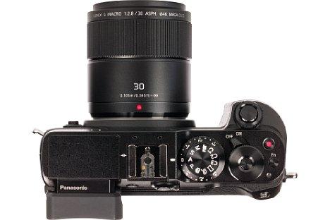 Bild Mit einer Naheinstellgrenze von nur 2,5 Zentimeter ab Frontlinse eignet sich das PanasonicLumix G Macro 30 mm 2,8 Asph. O.I.S. eher für Motive, die nicht weglaufen bzw. wegfliegen. [Foto: MediaNord]