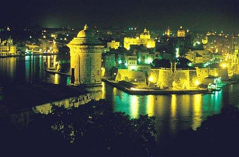Bild Nacht auf Malta [Foto: Jürgen Rauteberg]