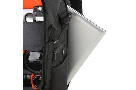 """Bild Das Laptopfach des Heralder 46 bietet genug Platz für ein Laptop mit einem 15""""-Display. [Foto: Vanguard]"""