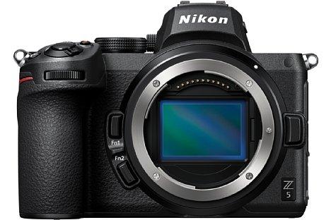 Bild Der Kleinbildsensor der Nikon Z 5 löst 24,3 Megapixel auf. [Foto: Nikon]