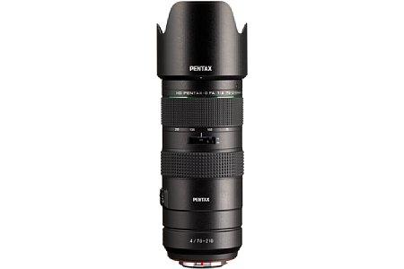 Pentax HD DFA 70-210 mm F4 ED SDM WR. [Foto: Ricoh]