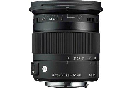Sigma C 17-70 mm F2.8-4 DC Makro OS HSM [Foto: Sigma]