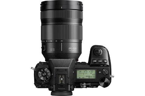 Bild Das 24-105mm-Zoom gibt es optionale für 900 Euro Aufpreis als Standardobjektiv im Set mit der Panasonic Lumix DC-S1 und S1R. Einzeln kostet das Objektiv hingegen 1.400 Euro. [Foto: Panasonic]