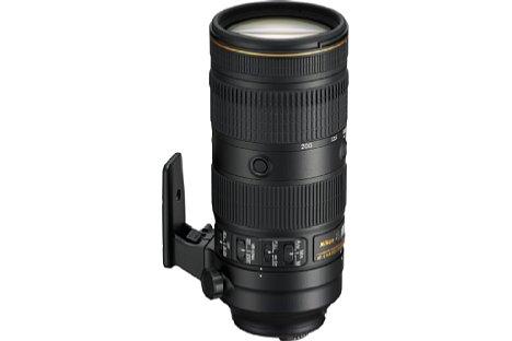Bild Das Nikon AF-S 70-200 mm 1:2.8E FL ED VR besitzt nun dasselbe Ergonomiedesign wie die aktuellen Nikon-Tele-Festbrennweiten mit 400, 500 und 600 Millimetern Brennweite, was zu einer einheitlichen und zudem schnellen Bedienung führen soll. [Foto: Nikon]