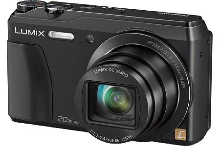 Bild Die Panasonic Lumix DMC-TZ56 zoomt optisch 20fach von umgerechnet 24-480 Millimeter, wie bei Panasonic üblich selbstverständlich mit Bildstabilisator. [Foto: Panasonic]