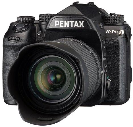 Bild Die Pentax K-1 Mark II ermöglicht mit ihrem zur Bildstabilisierung beweglich gelagertem 36 Megapixel auflösenden Vollformatsensor erstmals auch freihand Pixel-Shift-Resolution-Mehrfachaufnahmen zur Auflösungssteigerung. [Foto: Pentax]