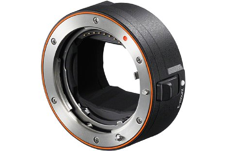 Bild Sony LA-EA5 Objektivadapter für A-Mount-Objektive. [Foto: Sony]