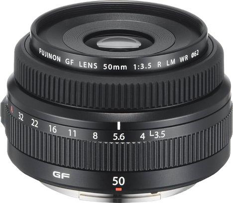 Bild Fujifilm GF 50 mm F3.5 R LM WR. [Foto: Fujifilm]