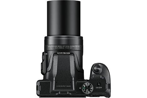 Bild Das optische 60-fach-Zoom der Nikon Coolpix B600 reicht von 24 bis 1.440 Millimeter im Kleinbildäquivalent. [Foto: Nikon]
