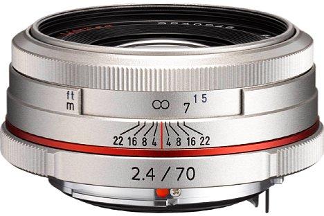 Bild Wie alle Objektive der HD Pentax Limited Edition Serie ist auch das HD Pentax DA 70 mm 2.4 Limited ab September 2013 erhältlich. [Foto: Pentax]