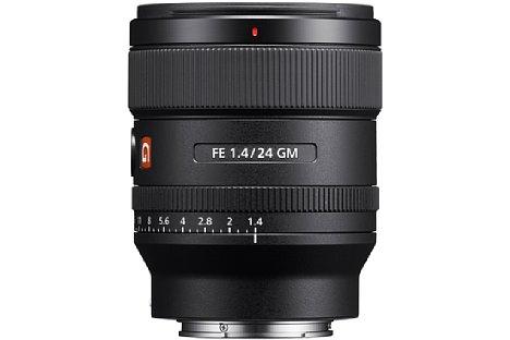 Bild Das Sony FE 24 mm F1.4 GM (SEL24F14GM) wiegt nur 445 Gramm, ist aber sogar staub- und spritzwassergeschützt. [Foto: Sony]