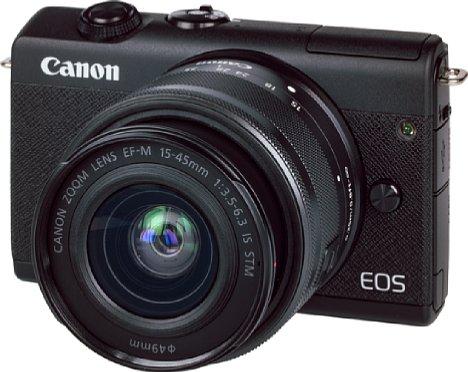 Bild Canon EOS M200 mit EF-M 15-45 mm IS STM. [Foto: MediaNord]