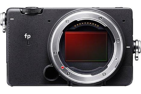 Bild Trotz des sehr kompakten Gehäuses besitzt die Sigma fp L einen großen Kleinbildsensor mit 61 Megapixel Auflösung. [Foto: Sigma]