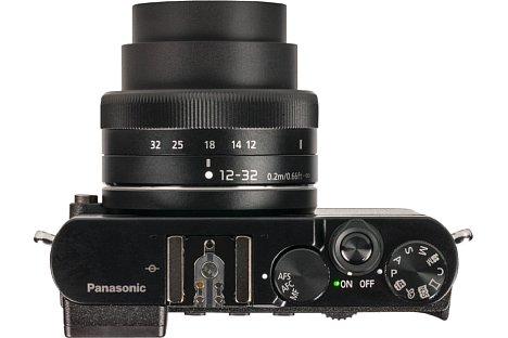 Bild Panasonic hat die GM5 mit einer Vielzahl an Bedienelementen versehen, die indes naturgemäß recht klein ausfallen. [Foto: MediaNord]