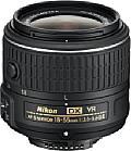 Das neue Setobjektiv Nikon AF-S 18-55 mm 3.5-5.6 DX VR G II präsentiert sich nicht nur im neuen Design, sondern fällt auch deutlich schlanker aus als das Vorgängermodell. [Foto: Nikon]
