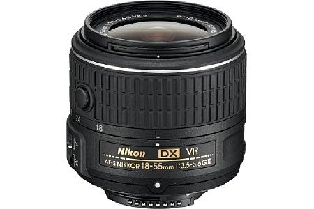 Nikon AF-S 18-55 mm 3.5-5.6 DX VR G II [Foto: Nikon]