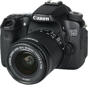 Canon EOS 70D mit EF-S 18-55mm IS STM [Foto: MediaNord]