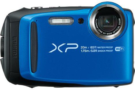 Bild Das optische Fünffachzoom der Fujifilm FinePix XP120 reicht von umgerechnet 28 bis 140 Millimeter. Die bewegliche Lagerung des 16-Megapixel-Sensors sorgt für die Bildstabilisierung. [Foto: Fujifilm]