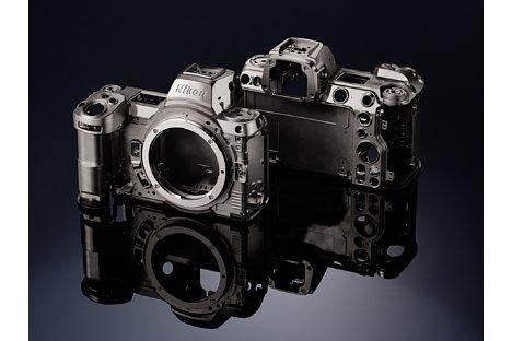 Bild Das Gehäuse der Nikon Z 6II und Z 7II besteht größtenteils aus einer leichten Magnesiumlegierung. [Foto: Nikon]