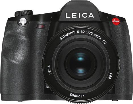 Bild Die neue digitale Mittelformat-DSLR Leica S3 löst 64 Megapixel auf ihrem 45x30 mm großen CMOS-Sensor auf. [Foto: Leica]
