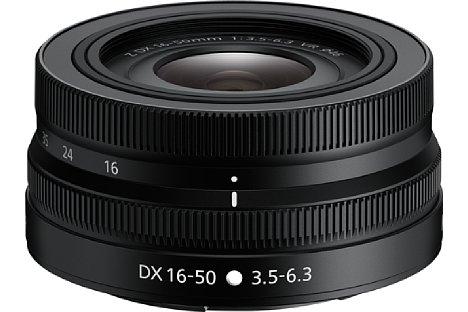 Bild Das Nikon Nikkor Z DX 16-50 mm F3.5-6.3 VR bietet neben einem Zoom- auch einen Einstellring.. [Foto: Nikon]