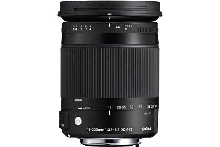 Sigma C 18-300 mm 3.5-6.3 DC Macro OS HSM [Foto: Sigma]