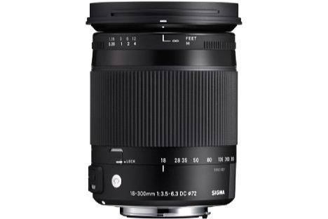 Bild Mit einer optionalen achromatischen Linse kann der Abbildungsmaßstab des Sigma C 18-300 mm 3.5-6.3 DC Macro OS HSM auf 1:2 gebracht werden. [Foto: Sigma]