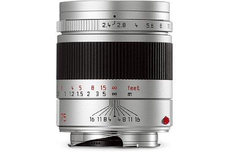 Bild Die Naheinstellgrenze des Leica Summarit-M 1:2.4/75 mm konnte auf 0,7 Meter verbessert werden. [Foto: Leica]