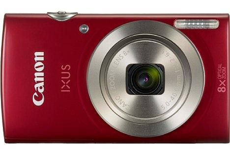 Bild Ab Januar 2016 soll die Canon Ixus 175 in Silber und Rot zu einem Preis von 105 Euro erhältlich sein. [Foto: Canon]