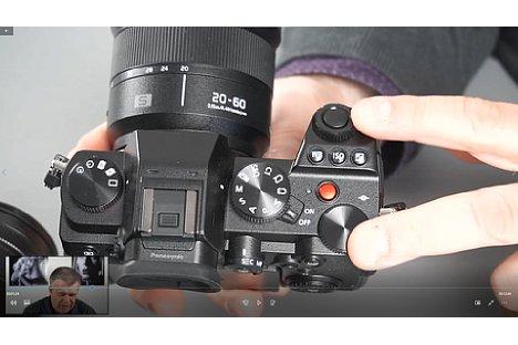Bild Screenshot aus dem Panasonic-Fortgeschrittenen-Schulungsvideo, hier mit der Panasonic Lumix S5. [Foto: MediaNord]
