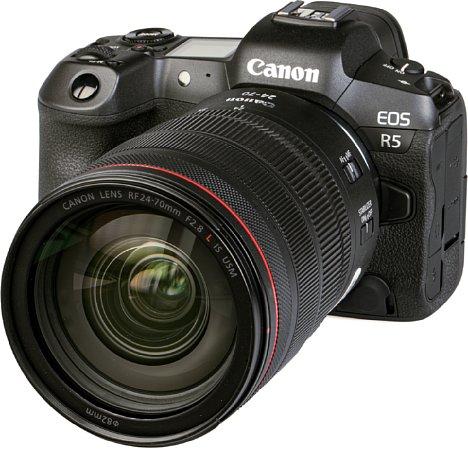 Bild Canon EOS R5 mit RF 24-70 mm. [Foto: MediaNord]