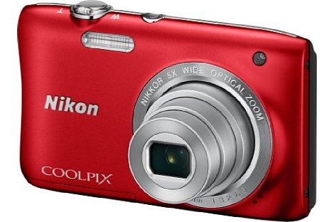 Bild Die Nikon Coolpix S2900 kommt Ende Januar 2015 auf den Markt und soll auch in Rot erhältlich sein. [Foto: Nikon]