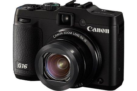 """Bild Die Canon PowerShot G16 sieht ihrem Vorgängermodell G15 zum Verwechseln ähnlich. Die Änderungen fanden """"unter der Haube"""" statt. [Foto: Canon]"""