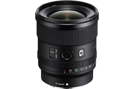 Sony FE 20 mm F1.8 G (SEL20F18G). [Foto: Sony]