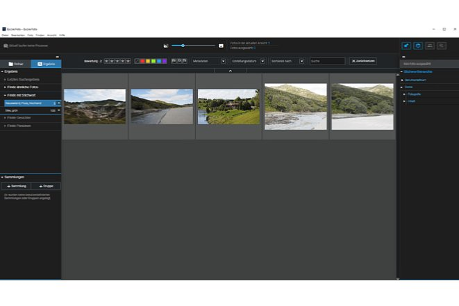 Bild Die Ergebnisse der automatischen Verschlagwortung passen auf die gefundenen Fotos. [Foto: MediaNord]